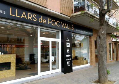 LLARS DE FOC VALLS showroom